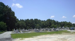 HCC Wide View 2 of Cemetery