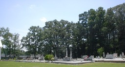 HCC Wide View of Cemetery